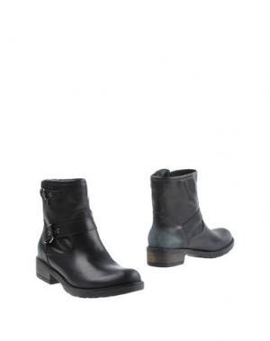 Полусапоги и высокие ботинки MON AMOUR. Цвет: черный