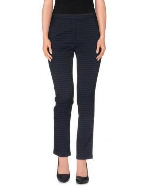 Повседневные брюки ES'GIVIEN. Цвет: темно-синий