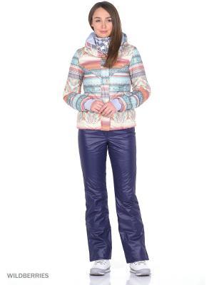Куртка Stayer. Цвет: бирюзовый, серый, голубой, коралловый