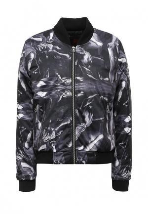 Куртка утепленная Sixth June. Цвет: разноцветный