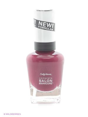 Лак для ногтей Salon Manicure Keratin,тон scarlet fever #639 SALLY HANSEN. Цвет: сливовый