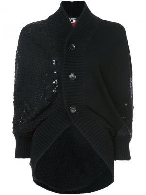 Panelled sequined cardigan Junya Watanabe Comme Des Garçons. Цвет: чёрный