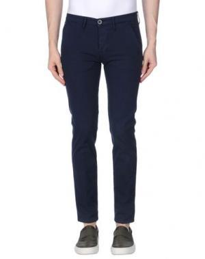 Повседневные брюки 0/ZERO CONSTRUCTION. Цвет: темно-синий