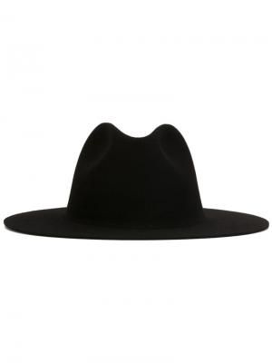Шляпа Федора Études. Цвет: чёрный