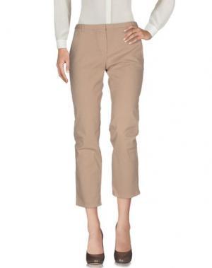 Повседневные брюки ..,MERCI. Цвет: песочный