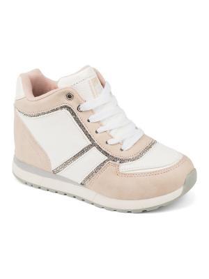 Сникеры King Boots. Цвет: розовый