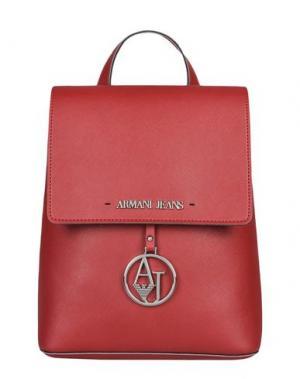 Рюкзаки и сумки на пояс ARMANI JEANS. Цвет: красный