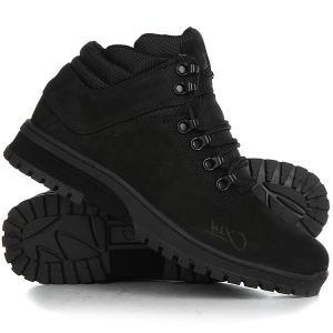 Ботинки высокие  H1ke Territory Blackout K1X. Цвет: черный