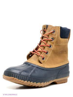 Ботинки SOREL. Цвет: светло-коричневый, темно-синий