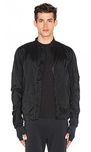 Куртка bombardier Satisfy. Цвет: черный