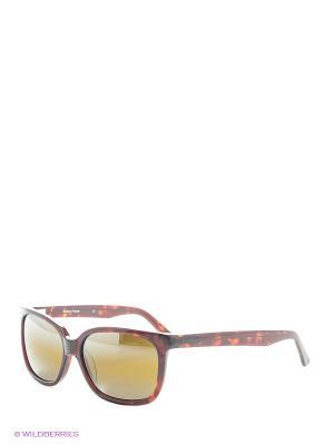 Солнцезащитные очки VL 1302 P022 SKILYNX Vuarnet. Цвет: коричневый, рыжий, темно-коричневый