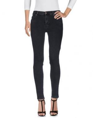 Джинсовые брюки DR. DENIM JEANSMAKERS. Цвет: стальной серый