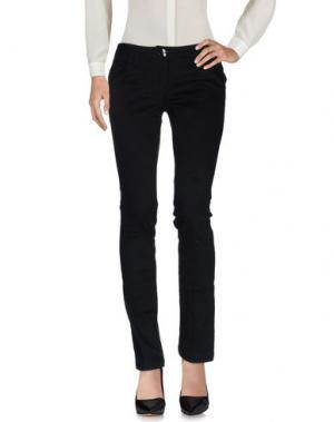 Повседневные брюки TAGLIA42. Цвет: черный