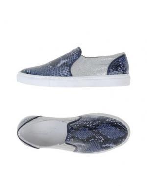 Низкие кеды и кроссовки GIORDANA F.. Цвет: грифельно-синий