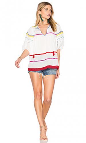 Блузка arizona Carolina K. Цвет: белый