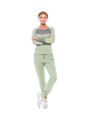 Спортивный костюм IMAGEFOR. Цвет: оливковый