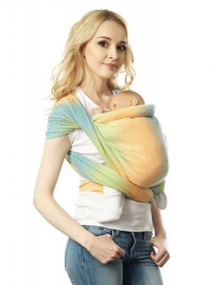 Слинг-шарф Симбио Mum`s Era. Цвет: желтый, синий, зеленый