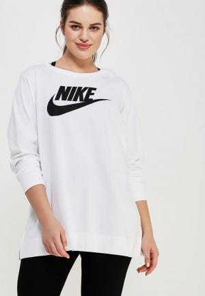 Свитшот Nike. Цвет: белый
