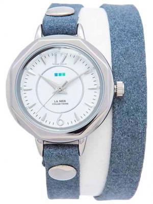 Часы La Mer Collections Del Mar Black. Цвет: синий