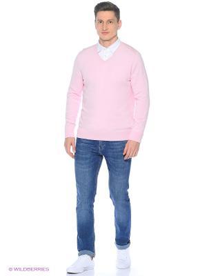 Свитер Colin's. Цвет: розовый