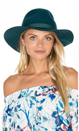Шляпа dalila Brixton. Цвет: сине-зеленый