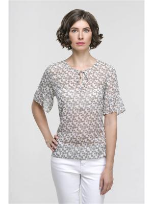 Блузка Modern. Цвет: серый