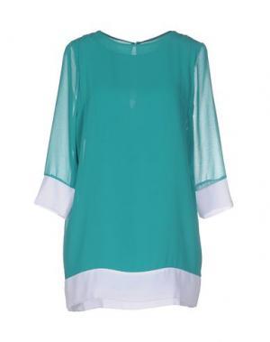 Короткое платье LA KORE. Цвет: зеленый