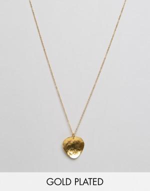 Ottoman Hands Ожерелье-подвеска Trigon. Цвет: золотой