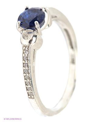 Кольцо Lovely Jewelry. Цвет: серебристый, синий