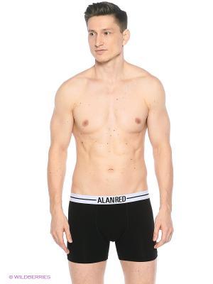 Боксеры Lasting, 2-pack Alan Red. Цвет: черный