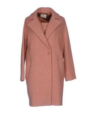 Пальто FOLK. Цвет: розовый