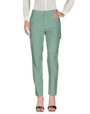 Повседневные брюки DENNY ROSE. Цвет: зеленый