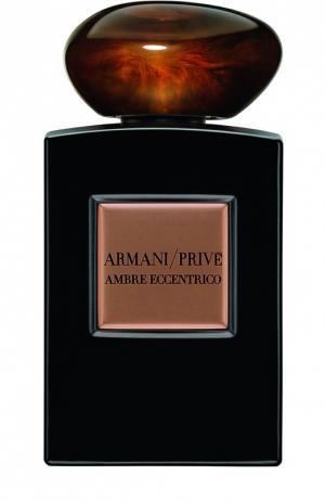 Парфюмерная вода Ambre Eccentrico Giorgio Armani. Цвет: бесцветный