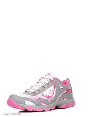 Кроссовки Ascot. Цвет: серый, розовый