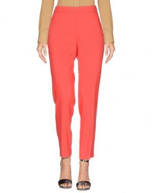 Повседневные брюки MARIA GRAZIA SEVERI. Цвет: красный