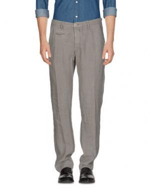 Повседневные брюки UNIFORM. Цвет: свинцово-серый