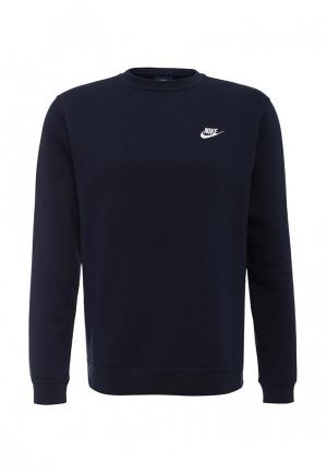 Свитшот Nike. Цвет: синий