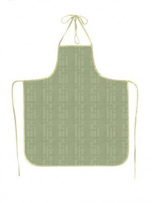 Фартук ПВХ Silk, модель 4 DEKORTEX. Цвет: серо-зеленый