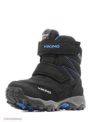 Ботинки Viking. Цвет: черный