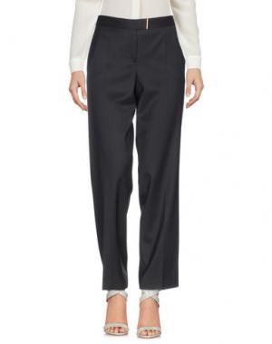 Повседневные брюки SALVATORE FERRAGAMO. Цвет: темно-синий