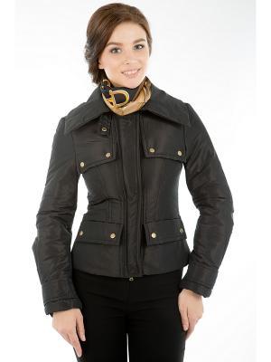 Куртка Levall. Цвет: черный