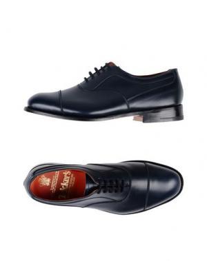 Обувь на шнурках TRICKER'S. Цвет: темно-синий