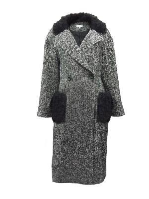 Пальто Personage. Цвет: серый