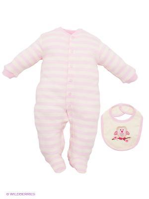 Комплект Hudson Baby. Цвет: бледно-розовый