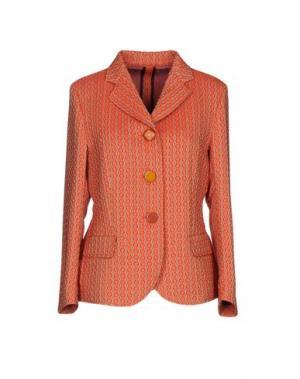 Пиджак MALÌPARMI M.U.S.T.. Цвет: оранжевый