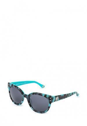 Очки солнцезащитные Juicy Couture. Цвет: бирюзовый