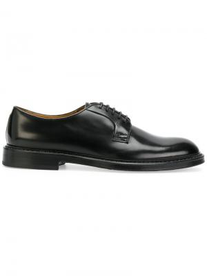 Классические ботинки Дерби Doucals Doucal's. Цвет: чёрный