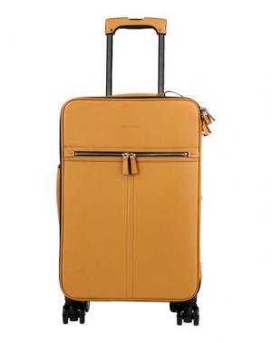 Чемодан/сумка на колесиках DSQUARED2. Цвет: охра