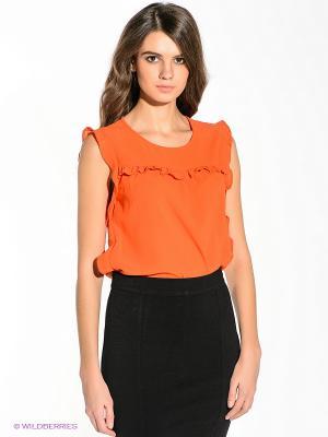 Топ Vila. Цвет: оранжевый