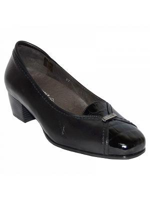 Комфортная обувь LAURA, арт. C002.2 ORTMANN. Цвет: черный